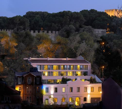 Olissippo Castelo_Hotel View
