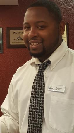 Days Inn San Antonio/Near Lackland AFB: demetrius was the best help! after reviewing different locations, this was the best!