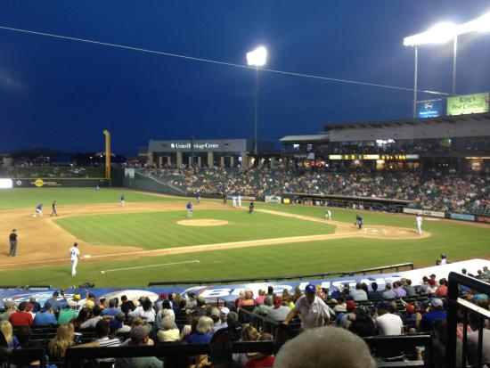 Round Rock Express : View from our seats