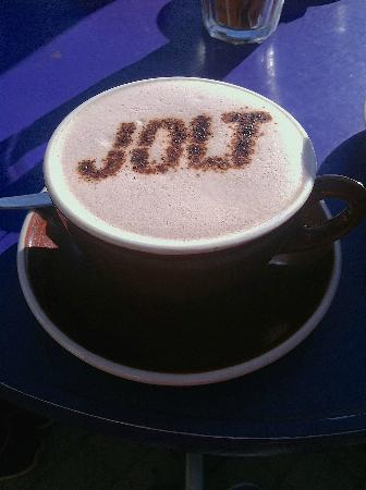 Jolt: soy hot chocolate