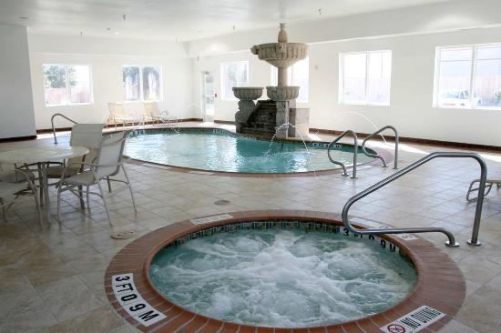 Hampton Inn & Suites Corpus Christi I-37 - Navigation Blvd.: Indoor Pool & Whirlpool