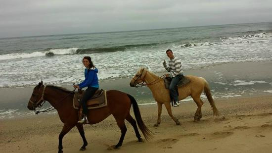 Sea Horse Ranch: Ride by the ocean <3