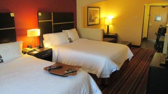 Hampton Inn Glenwood Springs: Double Queen Room