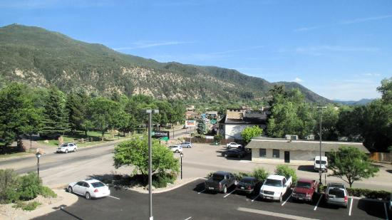 Hampton Inn Glenwood Springs: View from room