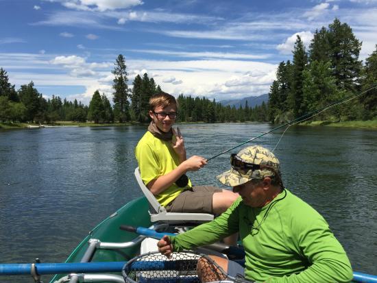 Bigfork, Μοντάνα: Fly fishing!
