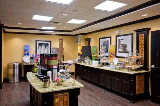 Hampton Inn & Suites Longview North: Breakfast Area