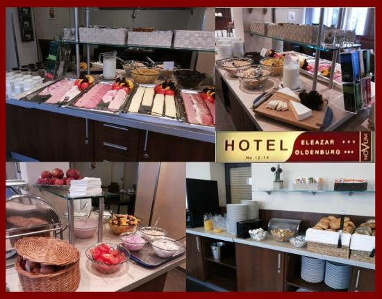 Novum Hotel Eleazar Hamburg City Center: colazione abbondante