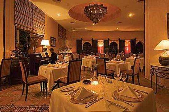 Hotel Marrakech le Semiramis : Restaurant