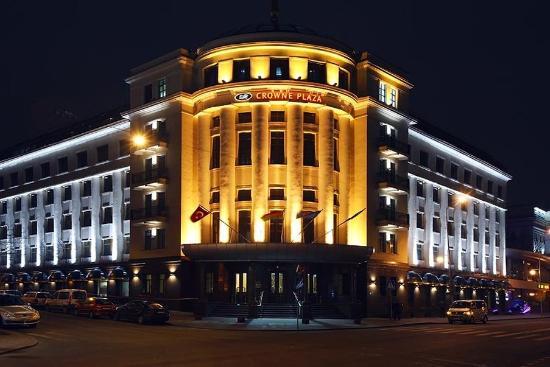 Crowne Plaza Minsk Hotel: Hotel Exterior