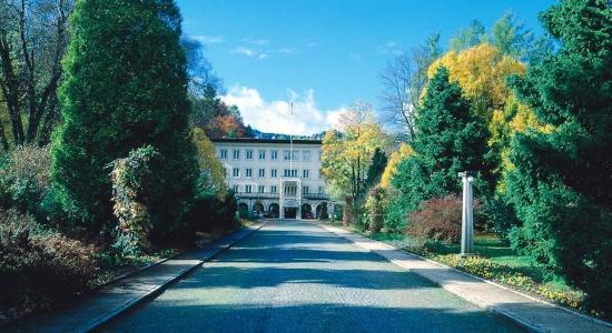 Vila Bled: Exterior