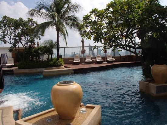 the swimming pool picture of intercontinental bangkok bangkok tripadvisor