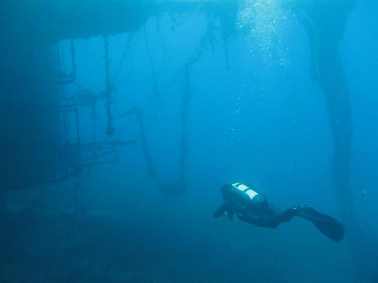 ScubAndros: What a daft place to leave a wreck