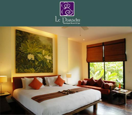 Le Paradis Boutique Resort & Spa: Guest Room