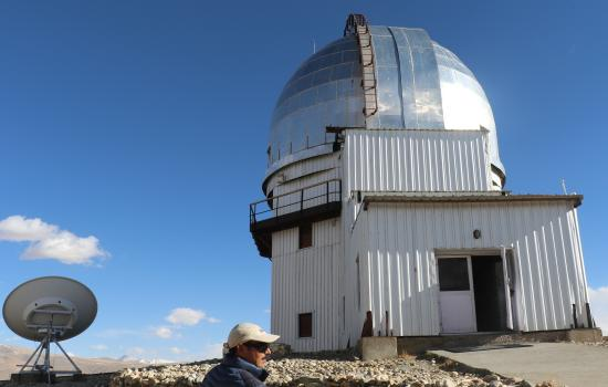 Hanle Observatory at 15000ft