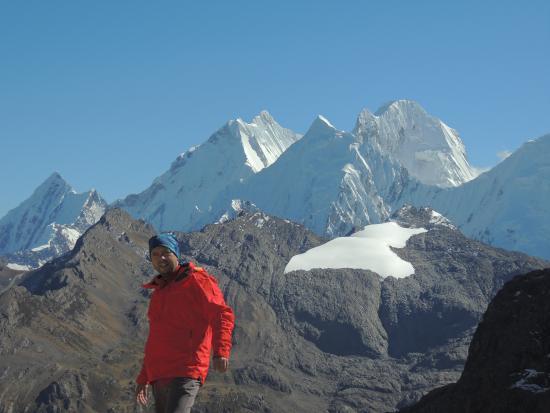 Ancash Region, Peru: Javier Martin Sosa en Huayhuash