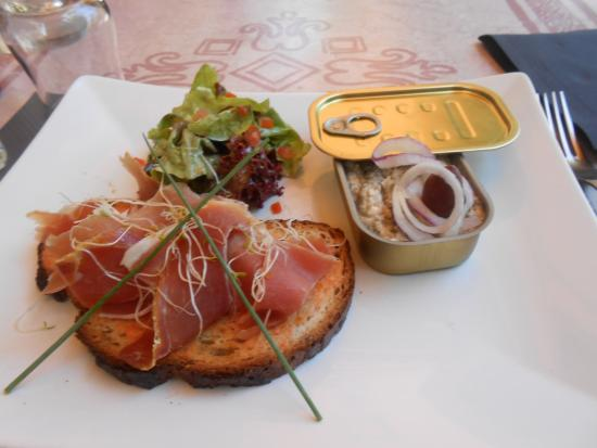 Hotel Concorde: caviar daubergine