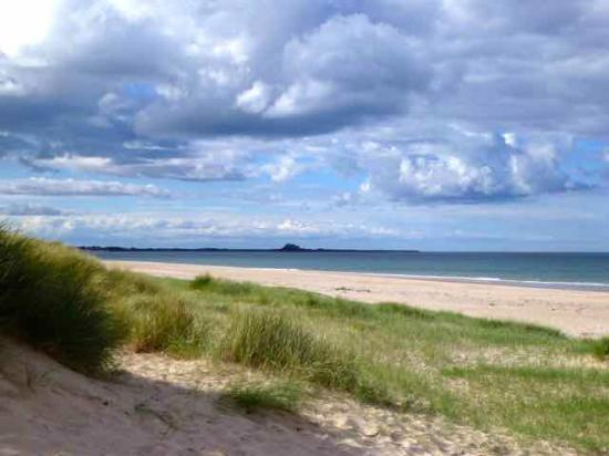 Outchester and Ross Cottages: Ross Beach