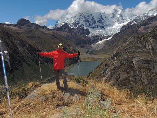 Cordillera Huayhuash : Javier Martin Sosa en Huayhuash