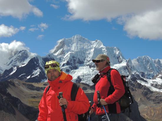Cordillera Huayhuash : Javier Martin Sosa en Peru