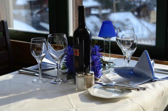 Hotel Eigerblick: restaurant panorama