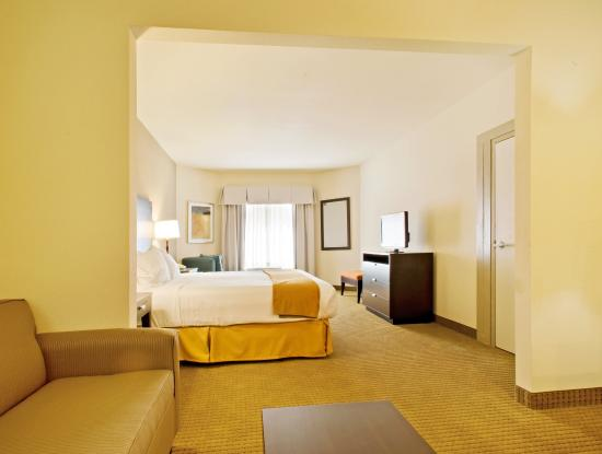Holiday Inn Express Hotel & Suites Shamrock North: King Bed Guest Room