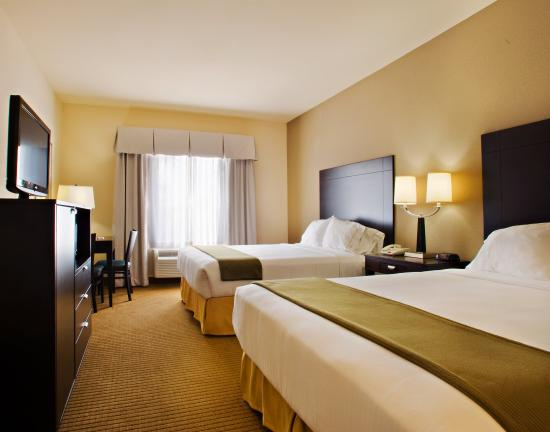 Holiday Inn Express Hotel & Suites Shamrock North: Double Bed Guest Room
