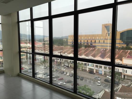Rocana Hotel Kuantan: View from Lift landing