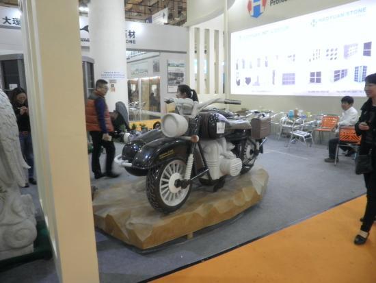 Xiamen International Conference & Exhibition Center (XICEC): 石材展