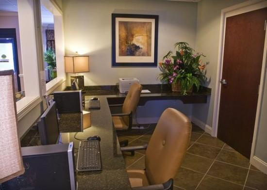Comfort Inn and Suites : business center