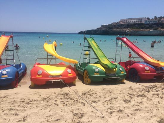 Club Cala Romani: The hotel & beach
