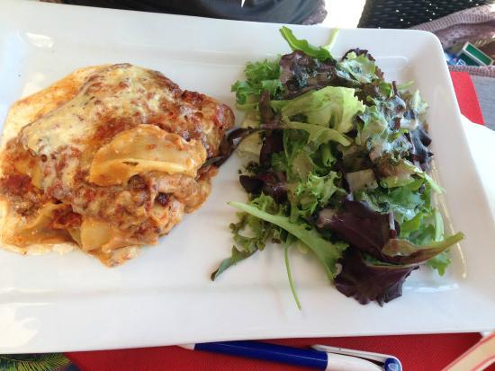 Bar Brasserie La jetee : Lasagne Mâson was very good