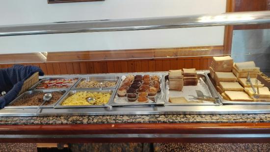 Hotel Flamingo: Buffet desayuno