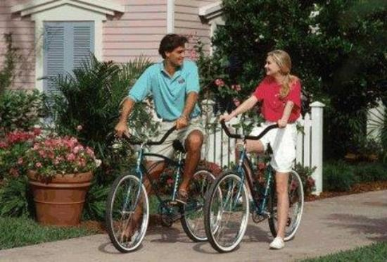 Disney's Old Key West Resort: Bicycling