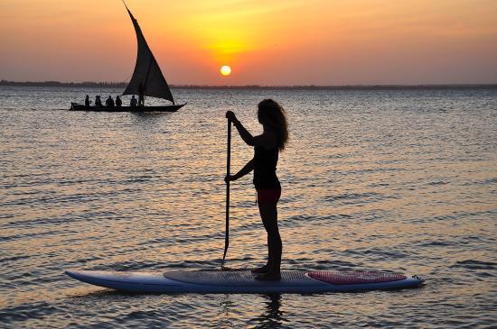 Michamvi, Τανζανία: Sunset Sup