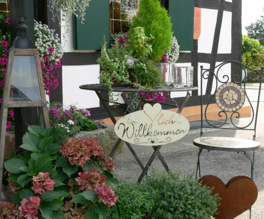 Landgasthof zur Blume : Eingangsbereich