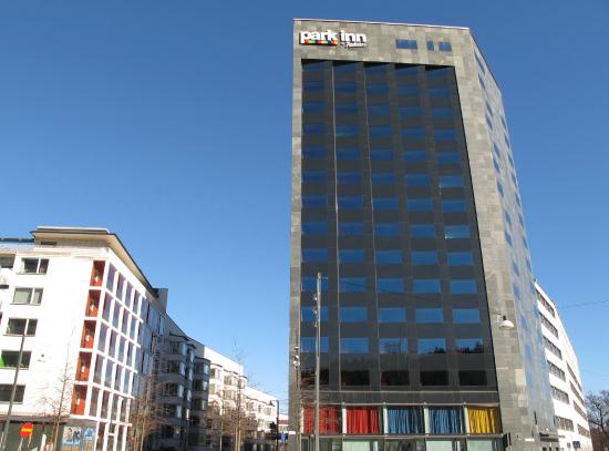 Park Inn by Radisson Stockholm Hammarby Sjostad: The hotel building