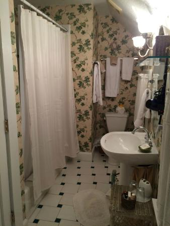 Thurston House Bed and Breakfast: Bathroom Cubbedge room