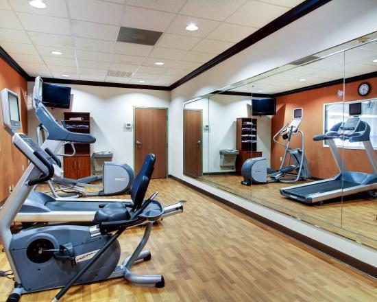Comfort Suites: MSFITNESSCENTER