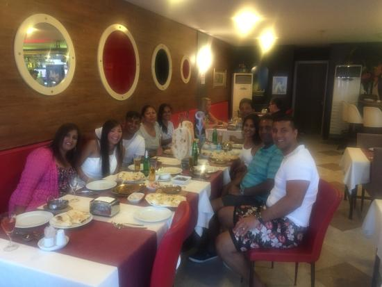 Family photo - The Taj Mahal, Marmaris - TripAdvisor