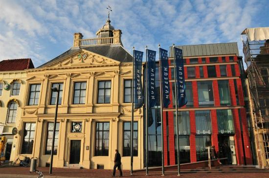 Vlissingen, The Netherlands: Entrance of the Museum