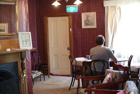 Mole Creek Guesthouse: Lounge