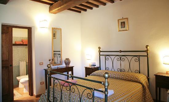 Agriturismo Ponte di Riocchio : Camera matrimoniale