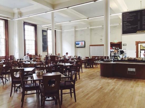 The Interior Picture Of The Bobbin Social Enterprise Cafe