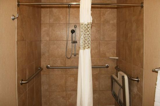 Alpine, TX: Accessible Roll-In Shower
