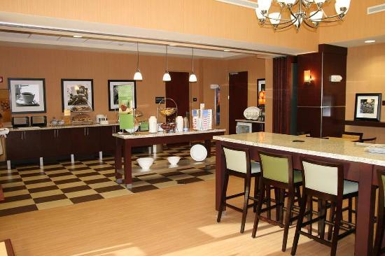 Hampton Inn & Suites Ft Lauderdale / Miramar: Breakfast Area