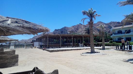 Sea Sun Hotel Dahab: restaurace na pláži je uzavřena