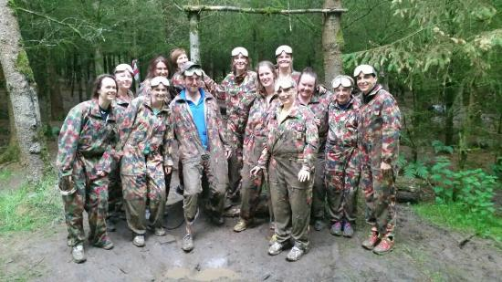 Loughcrew Adventure Centre: After the mud!