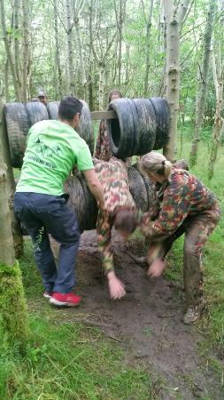 Loughcrew Adventure Centre: Team work!