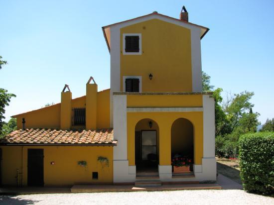 Villa Tatti: entrata villa