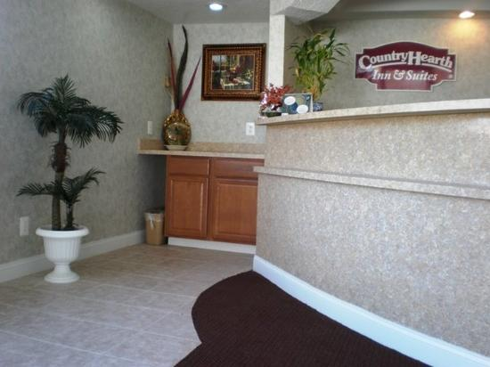 Country Hearth Inn Atlantic City/Galloway: Front Desk